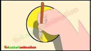 getlinkyoutube.com-Mengenal Bentuk dan Warna 6 bersama diva - Kastari Animation Official