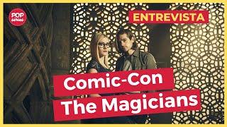 SDCC 2016: Jason Ralph e Olivia Taylor Dudley de The Magicians
