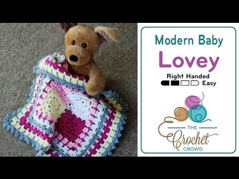 How to Crochet A Lovey: Modern Baby