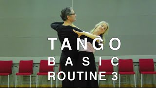 getlinkyoutube.com-How to Dance Tango - Basic Routine 3