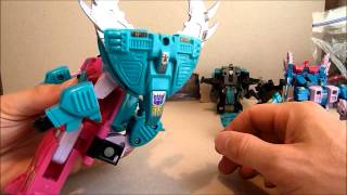 getlinkyoutube.com-Transformers G1 SEACONS And CRAZYDEVY Add On Parts Review