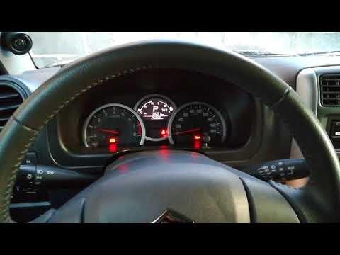 Suzuki Jimny cold start