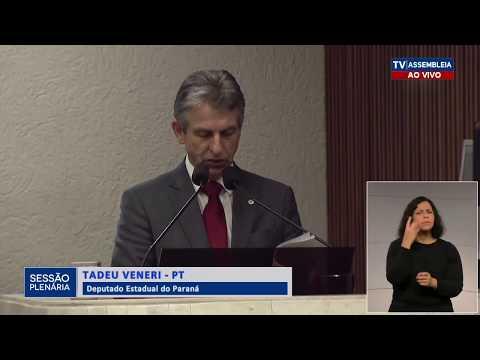 Veneri denuncia inconstitucionalidade em proposta que cria Instituto de Desenvolvimento Rural do PR