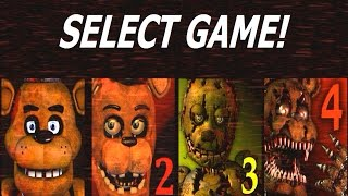 getlinkyoutube.com-Five Nights at Freddy's 1-4 Jumpscare Simulator (1, 2, 3, 4 Jumpscares)