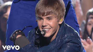 getlinkyoutube.com-Justin Bieber, Usher - Baby/Never Say Never/OMG (GRAMMYs on CBS) ft. Jaden Smith