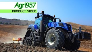 getlinkyoutube.com-EXTREME HARD CONDITIONS: NEW T8.435 SmartTrax | New Holland & Agri957 | ULTRA HD 4K