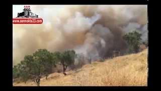 Harput'taki Yangın