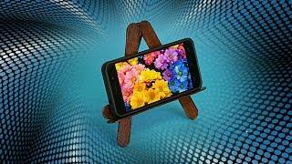getlinkyoutube.com-DIY PHONE STAND. HOW TO MAKE SMARTPHONE STAND HOLDER.