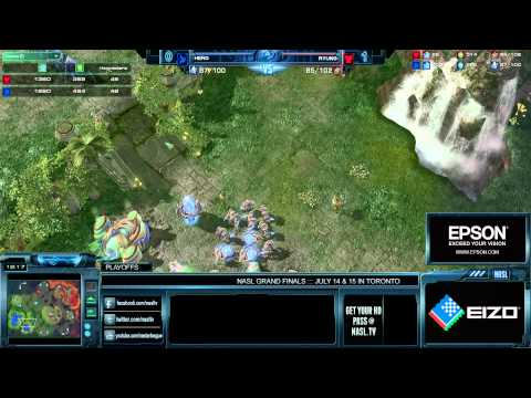 NASL Season 3 Playoffs - HerO vs Ryung - Game 2