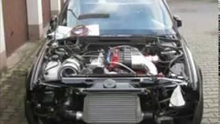 getlinkyoutube.com-BMW M5 Turbo E34 PRABAN-TURBO 800HP