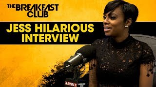 Jess Hilarious Talks Comedy Come Up, Relationships, Role In 'Rel' + More width=