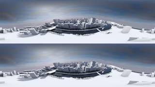 Cinema 4D VR-建築工程