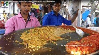 getlinkyoutube.com-How to Make Bombay Tawa Pulao | ROADSIDE STREET FOOD IN MUMBAI | INDIAN STREET FOOD