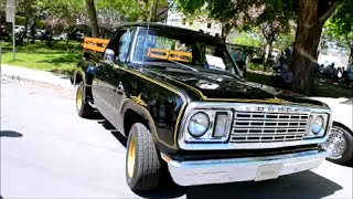 getlinkyoutube.com-BADASS 1977 DODGE WARLOCK PICKUP + 318 START UP REV