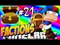 Minecraft FACTIONS #21 OPENING MYTHIC WARCHESTS! - Treasure Wars S1