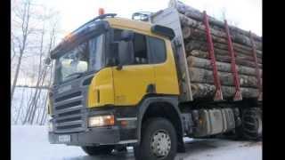 getlinkyoutube.com-Анатолий Полотно - лесовоз(Scania)