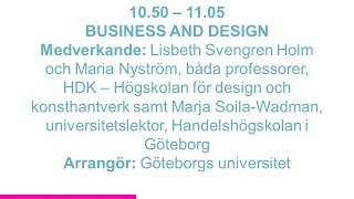 Forskartorget - BUSINESS AND DESIGN