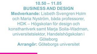 Forskartorget - BUSINESS AND DESIGN
