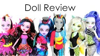 getlinkyoutube.com-Doll Review:  Monster High Freaky Fusion