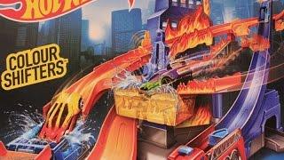 getlinkyoutube.com-Хот Вилс Мультик про машинки Трек Укротители огня Hot Wheels