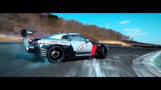 getlinkyoutube.com-Daigo Saito's 1000HP HKS R35 GTR Formula D Shakedown