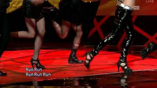 getlinkyoutube.com-[10.03.21] SNSD - Run Devil Run Comeback Stage [HD]