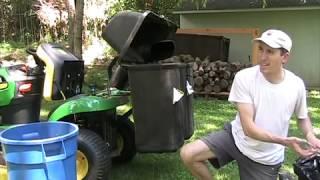 getlinkyoutube.com-John Deere Bagger 1 year review
