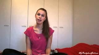 getlinkyoutube.com-How to encourage girl to wear tights/pantyhose
