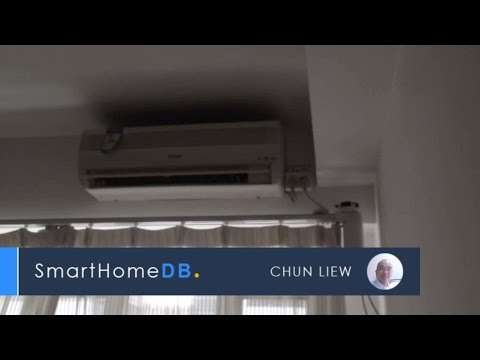 SmartHomeDB.com | Live Demo: Amazon Echo + SmartThings Hub + Remotec ZXT 120 + Panasonic AC
