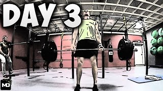 [Day3] - 30 DAY FITNESS CHALLENGE... I ♥️ Deadlifts - 352 lb (Back Day)