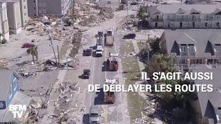 Floride: après l'ouragan, place à des opérations titanesques de nettoyage width=