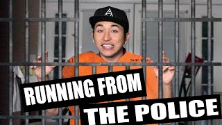 RUNNING FROM THE POLICE | Brennen Taylor