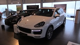 getlinkyoutube.com-Porsche Cayenne Turbo 2016 In Depth Review Interior Exterior