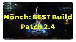 getlinkyoutube.com-Mönch: Der beste Build für Patch 2.4 (neues Innas Set & Kanais Würfel)