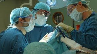 Transplantation du crâne grâce à une imprimante 3D