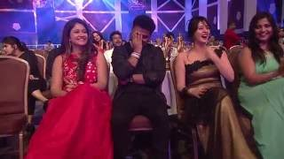 Satish Naveen Qureshi comedy performance | Mirchi music awards south 2015