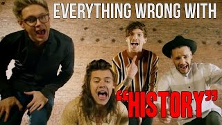 """getlinkyoutube.com-Everything Wrong With One Direction - """"History"""""""