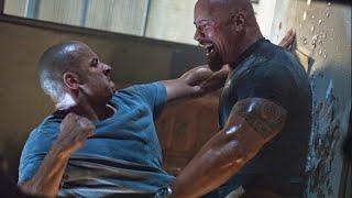 Vin Diesel vs The Rock Fight Fast & Furious
