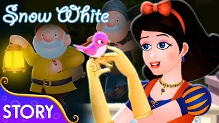 Snow White And The Seven Dwarfs | Stories For Kids | Fairy Tales By TinyDreams Kids | HD