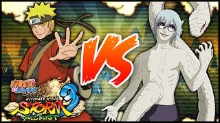 getlinkyoutube.com-[PC] NARUTO SHIPPUDEN: Ultimate Ninja STORM 3 FULL BURST | Sage Naruto VS Sage Kabuto