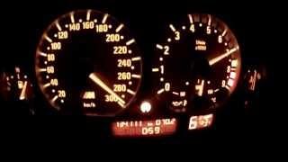 getlinkyoutube.com-BMW E46 M3 0-300 Tacho w/ Launchcontrol