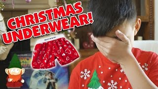 I GOT UNDERWEAR FOR CHRISTMAS!!!