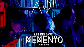 A9 NEW SINGLE 「MEMENTO」2017.02.28 on sale【MV SPOT】
