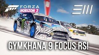 Ford GYMKHANA 9 FOCUS RS RX - HOT LAP BATTLE | Forza Horizon 3