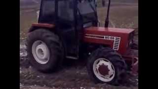 getlinkyoutube.com-Traktör new holland 8066 çekişmesi