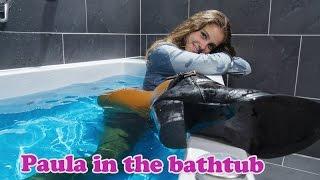 getlinkyoutube.com-Wetlook - Paula's bathtub experience