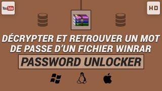 getlinkyoutube.com-Comment décrypter et retrouver un mot de passe d'un fichier WinRAR