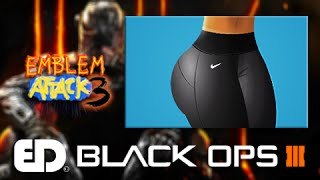 getlinkyoutube.com-Black Ops 3: GYM NIKE LEGGINGS Emblem Tutorial (Emblem Attack 3)