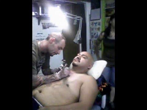 mexican skull tattoo. Cip Mexican Skull Tattoo.wmv