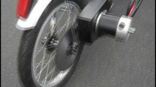 getlinkyoutube.com-The Bob an Electric Pusher Bicycle Hauler Trailer  First Run